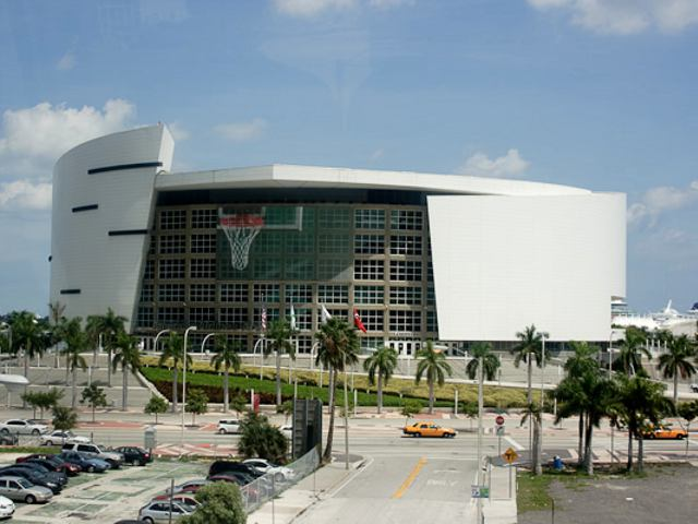 American Airlines Arena: Home of the Miami Heat