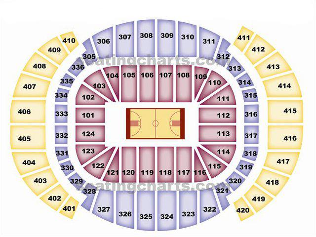 Miami heat seating chart heatseatingchart com