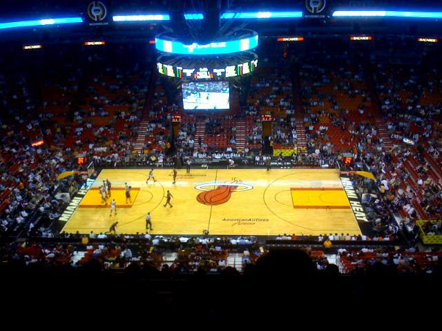 Miami Heat Upper Seats